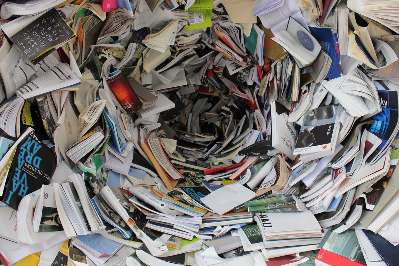 Hitta billiga böcker på loppis